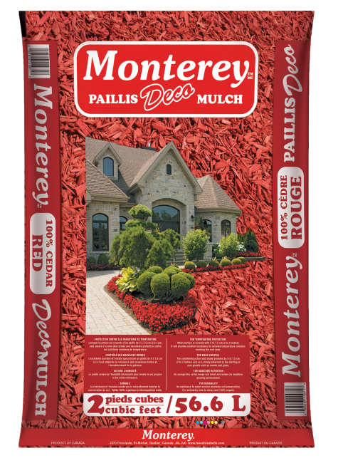 PAILLIS MONTEREY ROUGE 2PC 3D ALLONGÉ